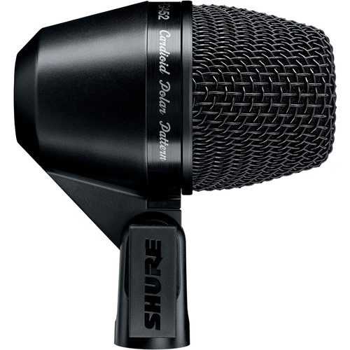 Shure PGA52-LC Cardioid Dynamic Kick Drum Microphone (Less Cable)