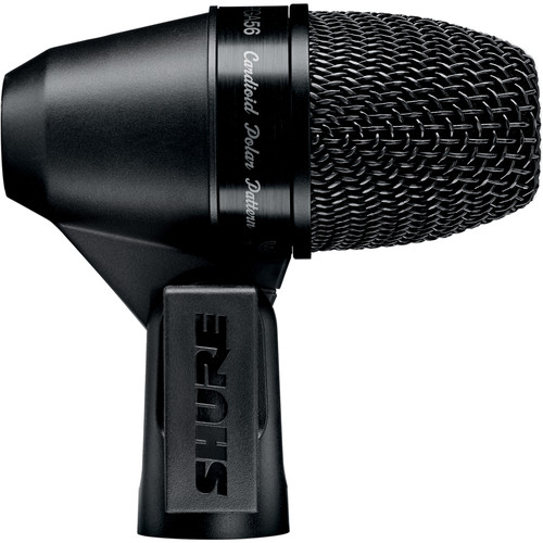 Shure PGA56-LC Cardioid Dynamic Snare/Tom Microphone (Less Cable)