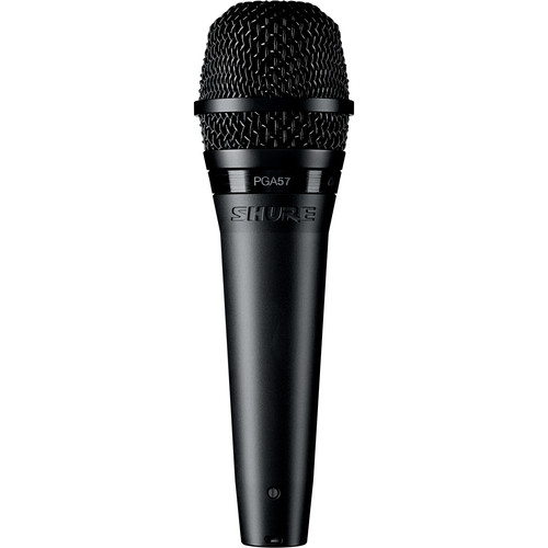 Shure PGA57-XLR Cardioid Dynamic Instrument Microphone with XLR Cable (15')