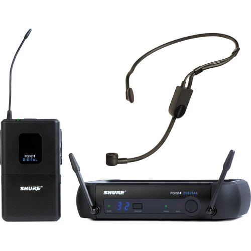 Shure PGXD14/PGA31 Headworn Wireless System (X8: 902 - 928 MHz)