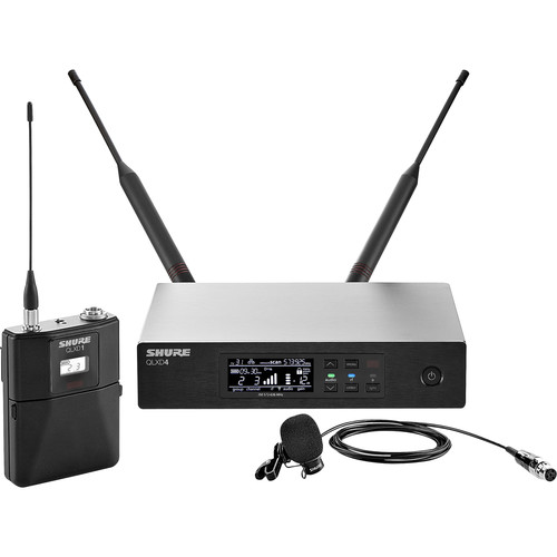 Shure QLXD14/84 Digital Wireless Supercardioid Lavalier Microphone System (V50: 174 to 216 MHz)