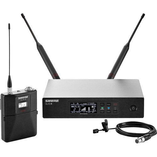 Shure QLXD14/93 Lavalier Wireless Microphone System (L50: 632 to 696 MHz)