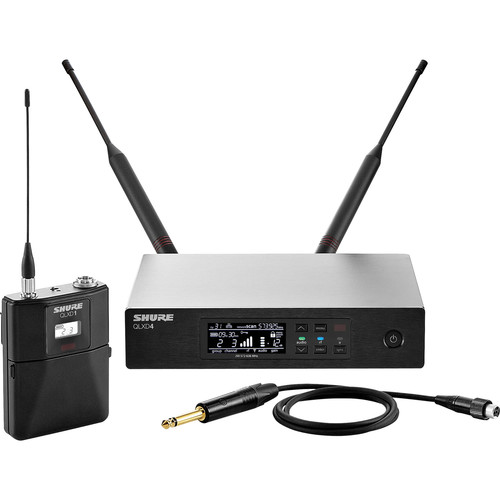 Shure QLXD14 Wireless Guitar System (J50A: 572 to 608 + 614 to 616 MHz)