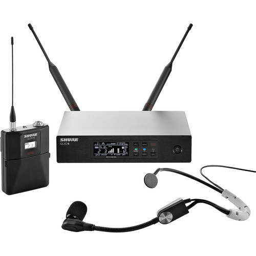 Shure QLXD14/SM35 Wireless Headworn Microphone System (H50: 534 to 598 MHz)