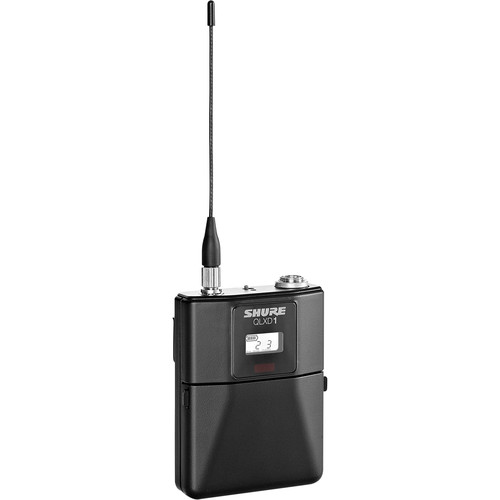 Shure QLXD1 Wireless Bodypack Transmitter (572 to 608 + 614 to 616 MHz)