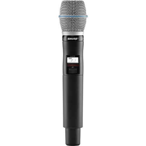 Shure Handheld Transmitter with Beta87A Microphone (J50A)