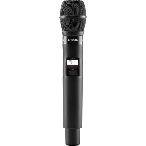 Shure QLXD2/KSM9 Digital Handheld Wireless Microphone Transmitter with KSM9 Capsule (H50: 534 to 598 MHz)