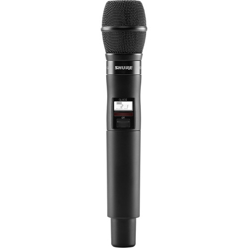 Shure QLXD2/KSM9HS Digital Handheld Wireless Microphone Transmitter with KSM9HS Capsule (J50A: 572 to 608 + 614 to 616 MHz)
