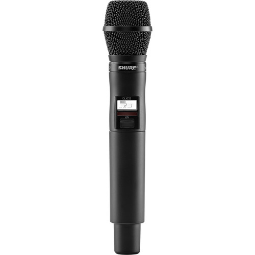 Shure QLXD2/SM87 Digital Handheld Wireless Microphone Transmitter with SM87A Capsule (V50: 174 to 216 MHz)