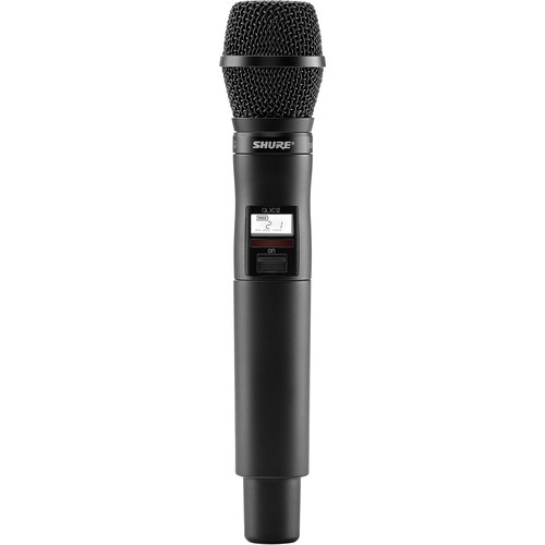Shure QLXD2/SM87 Digital Handheld Wireless Microphone Transmitter with SM87A Capsule (X52: 902 to 928 MHz)