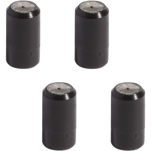 Shure Hypercardioid Cap for Countryman WCE6 Earset Microphones (4-Pack, Black)