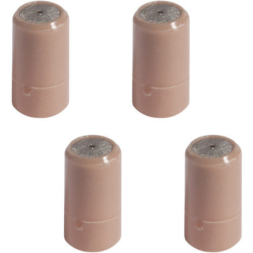 Shure Hypercardioid Cap for Countryman WCE6 Earset Microphones (4-Pack, Tan)