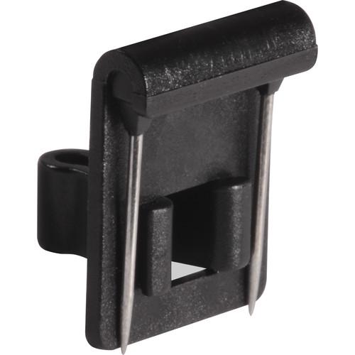 Shure Vampire Clip for TwinPlex Lavalier Microphones (3-Pack, Black)