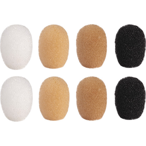Shure Windscreen Kit for TL/TH TwinPlex Microphones (8-Pack, Mixed Color)