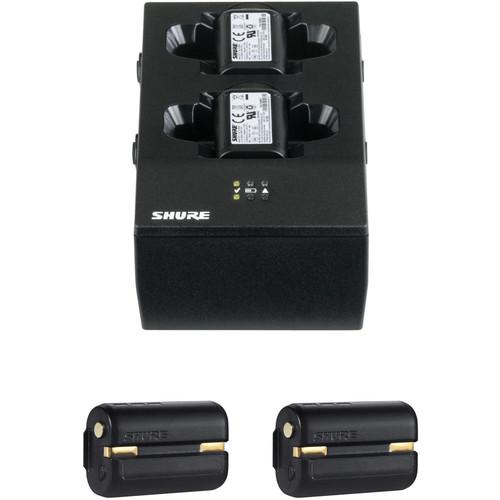 Shure SBC200US Charger and Dual SB900A Battery Kit