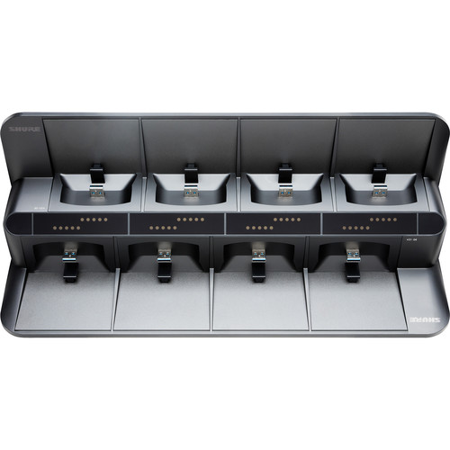 Shure SBC850US 8-Bay Networked Charging Station with Power Supply