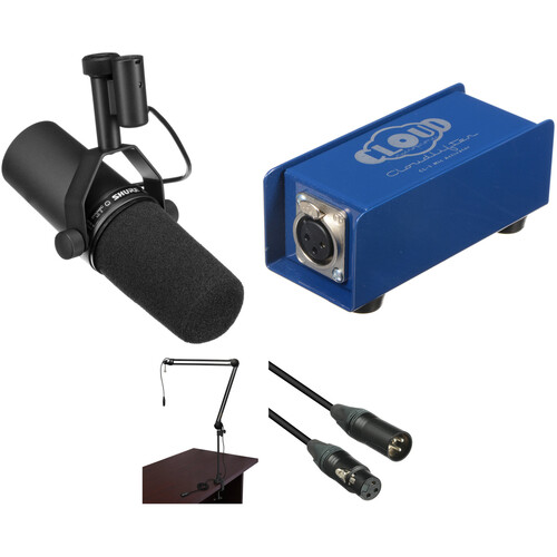 Shure SM7B Broadcaster Package with CloudLifter CL-1 Kit