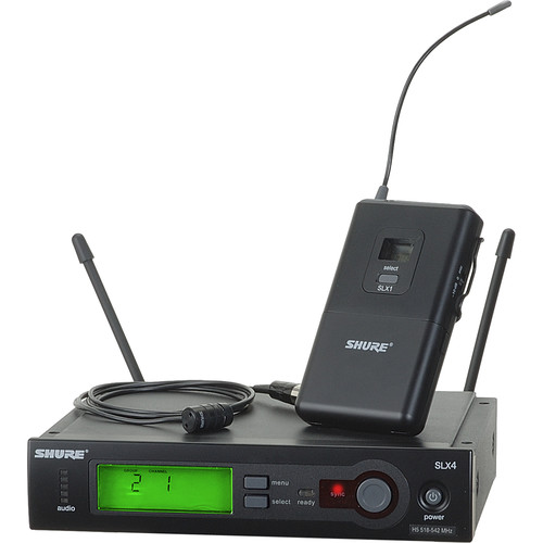 Shure SLX Series Wireless Microphone System (H19/542 - 572MHz)