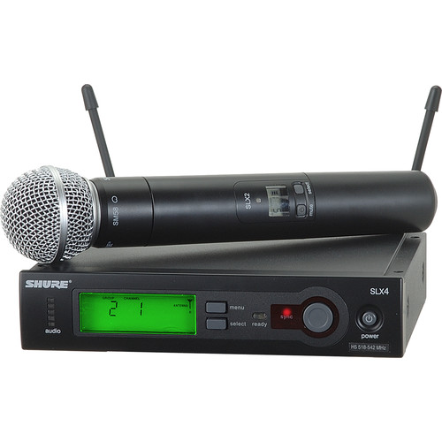 Shure SLX Series Wireless Microphone System (H19: 542 - 572 MHz)