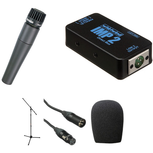 Shure SM57-LC and DI Kit