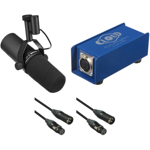 Shure SM7B Dynamic Vocal Microphone and Cloudlifter Kit
