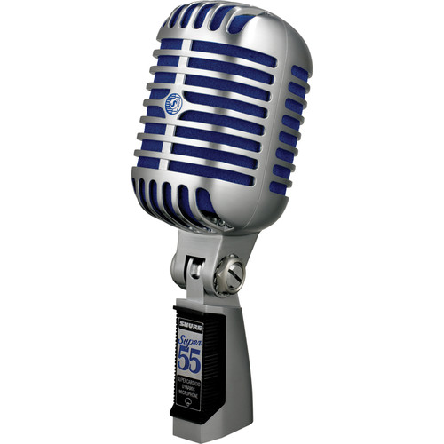 Shure Super 55 Deluxe Vocal Microphone and Designer Stand Kit