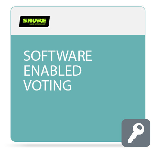 Shure Software Enabled Voting