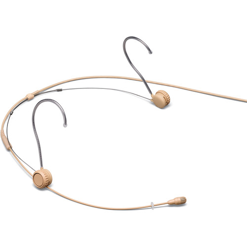 Shure TwinPlex TH53 Omnidirectional Headset Microphone (Pigtail, Tan)
