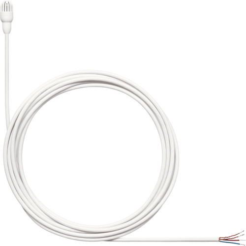 Shure TwinPlex TL47 Omnidirectional Lavalier Microphone with Accessories (Pigtail, White)