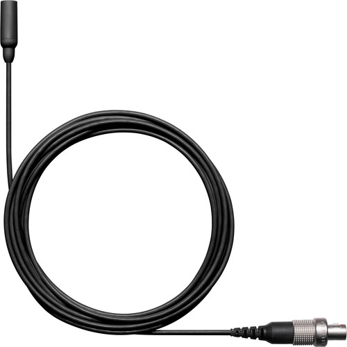 Shure TwinPlex TL48 Omnidirectional Lavalier Microphone (LEMO, Black)