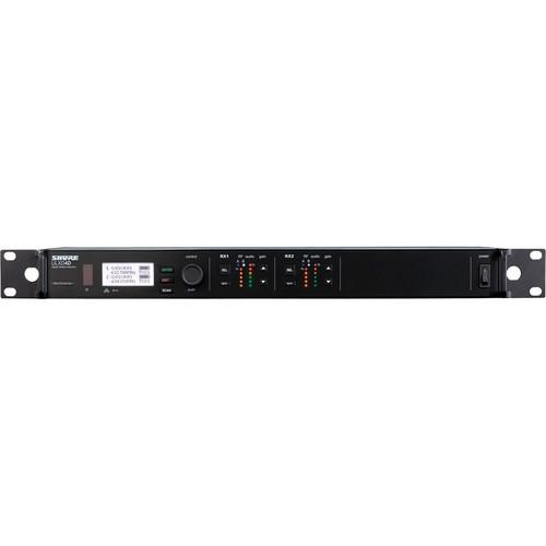 Shure ULXD124D/B87C Dual-Channel Combo Wireless System (J50: 572 - 636 MHz)