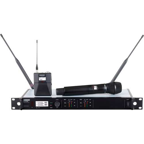 Shure ULXD124D/SM87 Dual Channel Combo Wireless System G50 Band