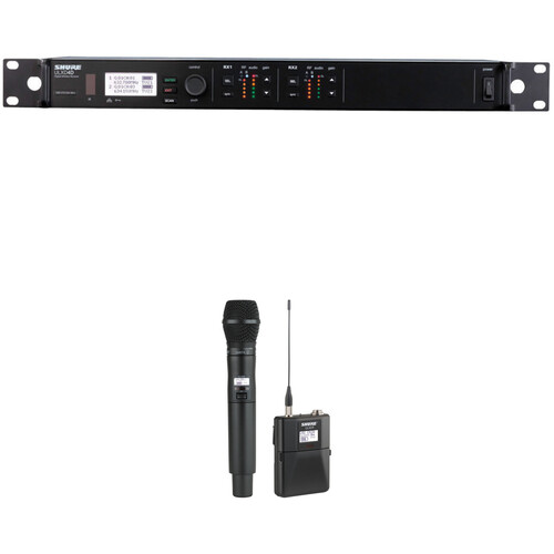 Shure ULXD124D/SM87 Dual Channel Combo Wireless System H50 Band