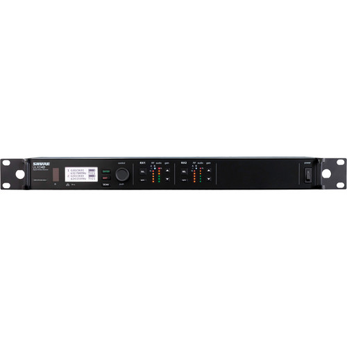 Shure ULXD124D/SM87 Dual Channel Combo Wireless System L50 Band