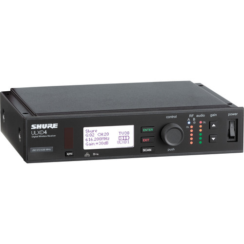 Shure ULXD Lavalier UHF Wireless Kit (MX150/C Microphone, L50: 632 to 696 MHz)