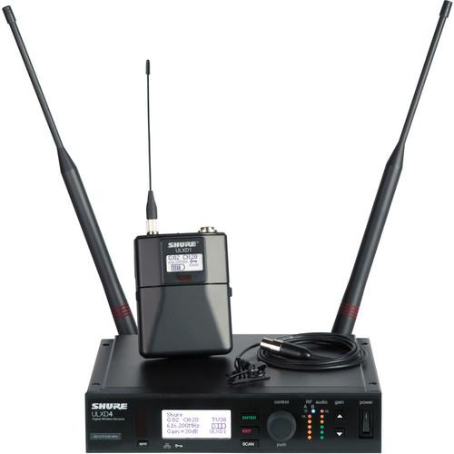 Shure ULXD Lavalier UHF Wireless Kit (MX150/) Microphone, H50: 534 to 598 MHz)