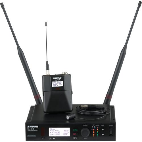 Shure ULXD UHF Wireless Lavalier Kit (WL183, J50: 572 - 636 MHz)