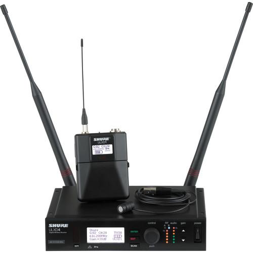 Shure ULX-D Single Digital Wireless Bodypack Kit with WL184 Mic (H50: 534 to 598 MHz)