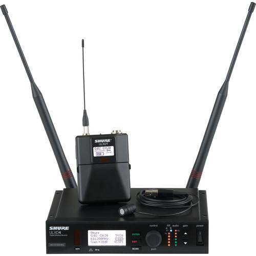 Shure ULXD Lavalier UHF Wireless Kit (WL185, G50: 470 to 534 MHz)