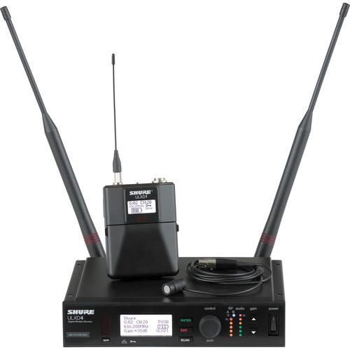 Shure ULX-D Digital Wireless Lavalier Kit (J50: 572 to 636MHz)