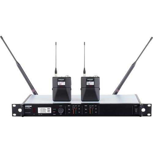 Shure ULXD Dual-Channel UHF Bodypack Instrument Kit (J50: 572 to 636 MHz)