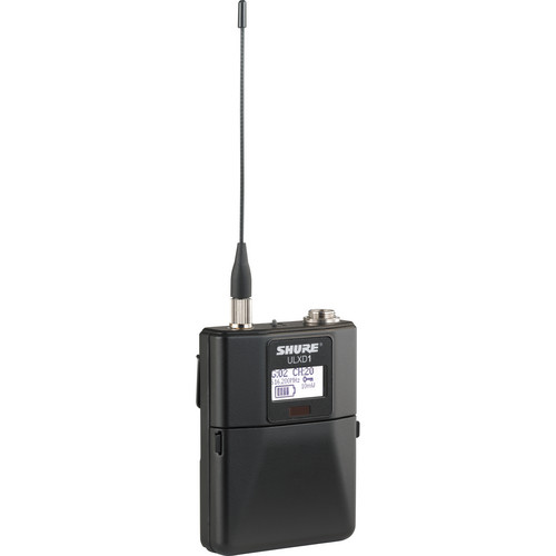 Shure ULXD1 Wireless Bodypack Transmitter - H50 / 534 to 598 MHz