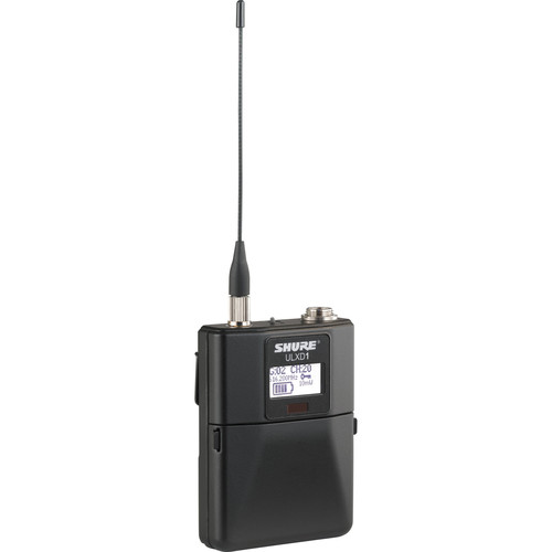 Shure Digital Wireless Bodypack Transmitter with Miniature 4-Pin Connector (J50A)