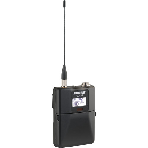 Shure ULXD1 VHF Wireless Bodypack Transmitter (V50 / 174 to 216 MHz)