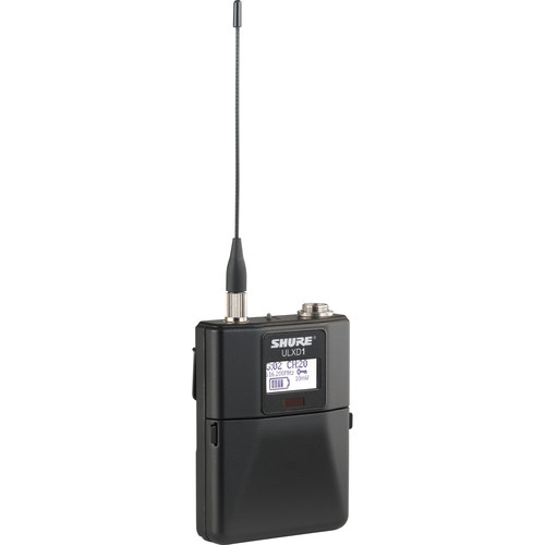 Shure ULXD1 Wireless Bodypack Transmitter (G50 / 470 to 534 MHz)