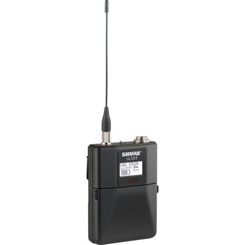 Shure ULXD1 Digital Wireless Bodypack Transmitter with LEMO3 (H50: 534 to 598 MHz)