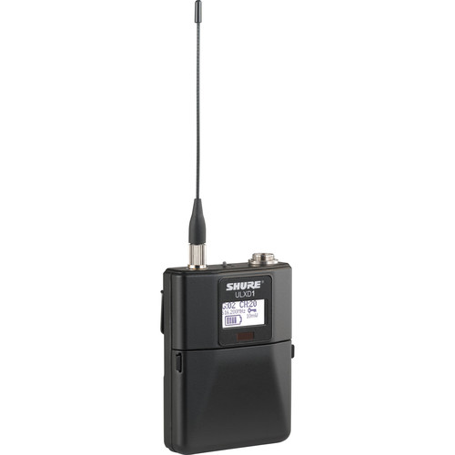 Shure ULXD1 Wireless Bodypack Transmitter (J50A: 572 to 608 + 614 to 616 MHz)