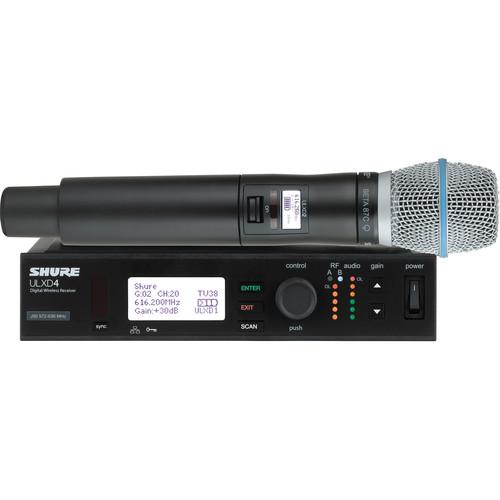Shure ULXD Handheld UHF Wireless System (Beta 87C Capsule, G50: 470 to 534 MHz)