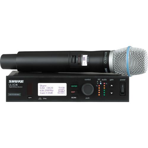 Shure ULXD24/B87C Handheld Wireless System (Band H50)