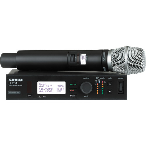 Shure ULXD24/SM86 Handheld Wireless System (Band H50)